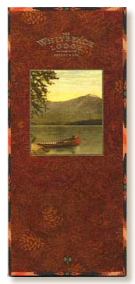 Whiteface Lodge rack brochure