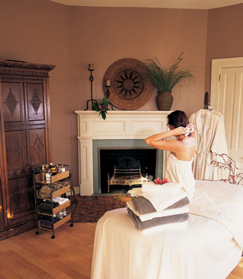 The Willcox spa room